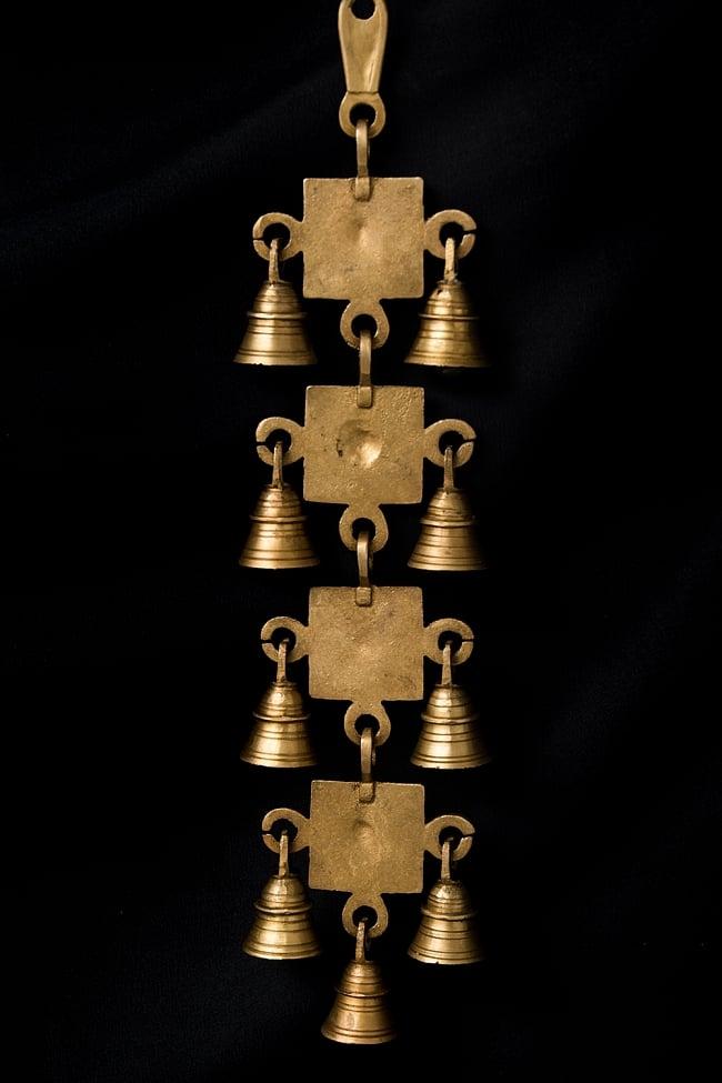 インドの神様ベル【4段】 5 - 裏側の様子です。