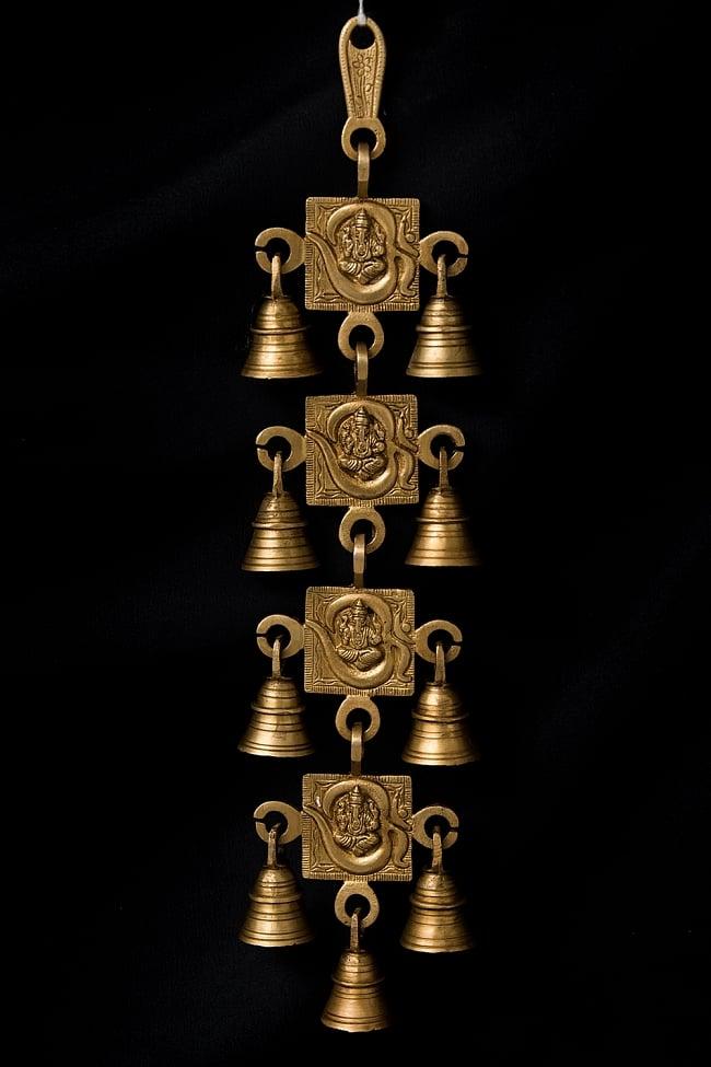 インドの神様ベル【4段】の写真