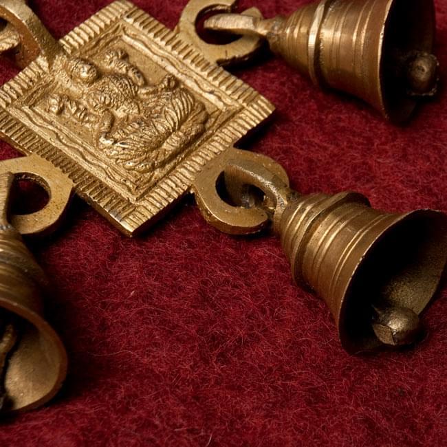 インドの神様ベル【1段】の写真2 - ベルの部分のアップです