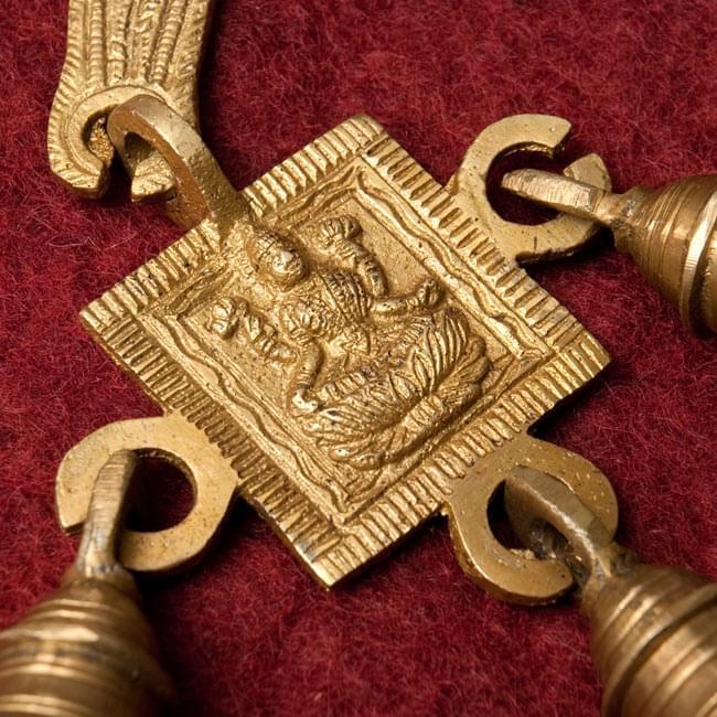 インドの神様ベル【1段】の写真3 - レリーフのアップです