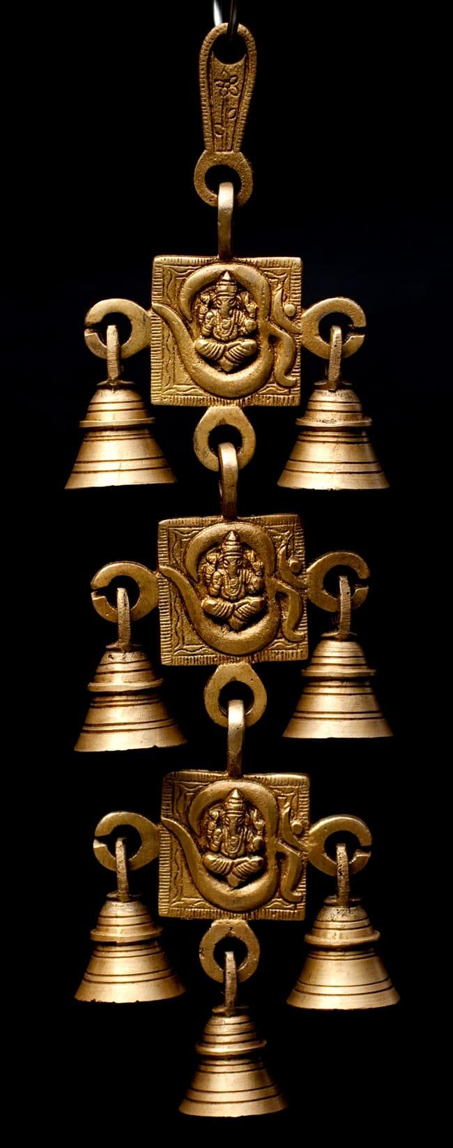 インドの神様ベル【3段】の写真