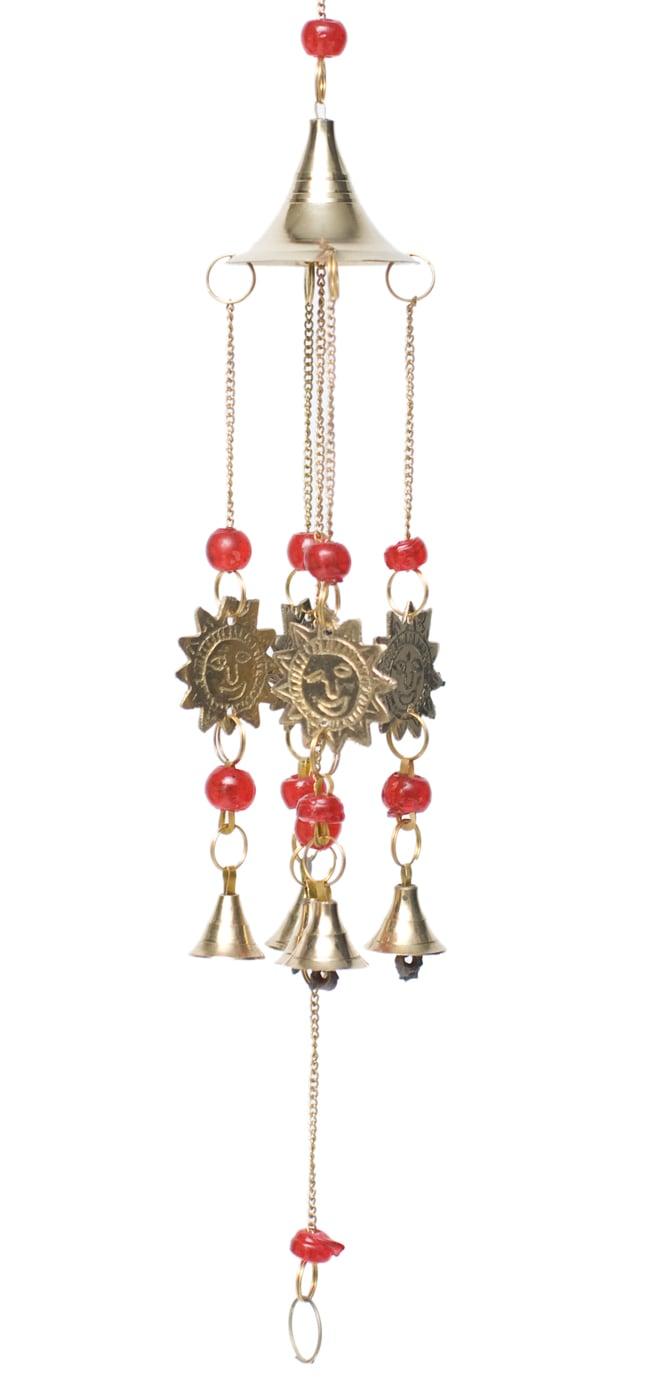 インド風鈴−ベルとスーリャ 【赤】の写真