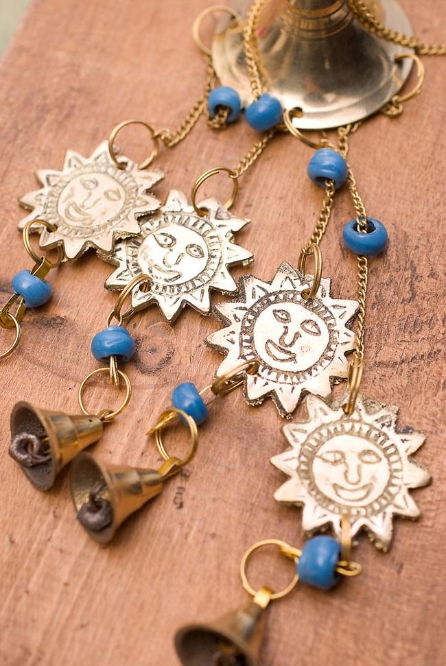インド風鈴−ベルとスーリャ 【青】の写真