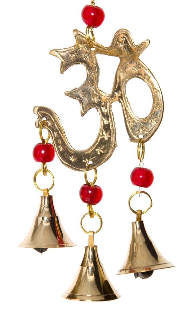 インド風鈴−ベルとオーンの写真2 - 商品をアップにしてみました。