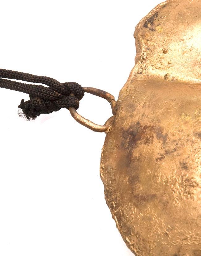 インドの銅製ハンギング-ぞうの写真3 - アップにして撮ってみました。