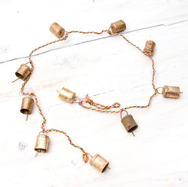 インドの銅製カウベル-【1cm*1.5cm】の写真