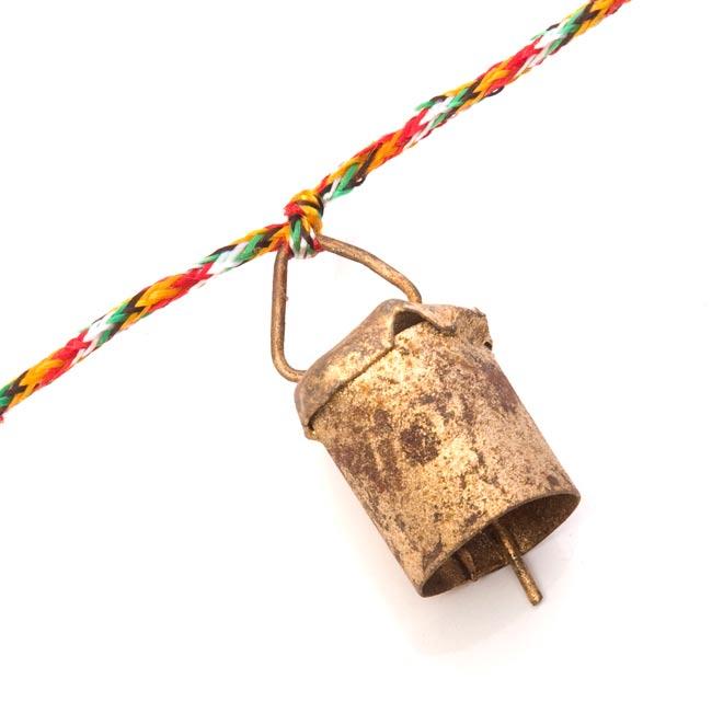 インドの銅製カウベル-【3cm*2cm】の写真3 - アップにして撮ってみました。