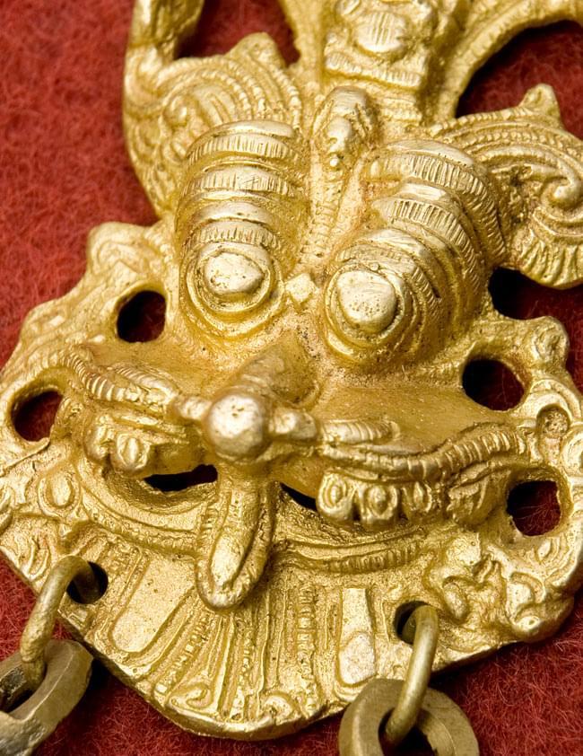 インドの神様ベル -Yali Faceの写真2 - 拡大しました。