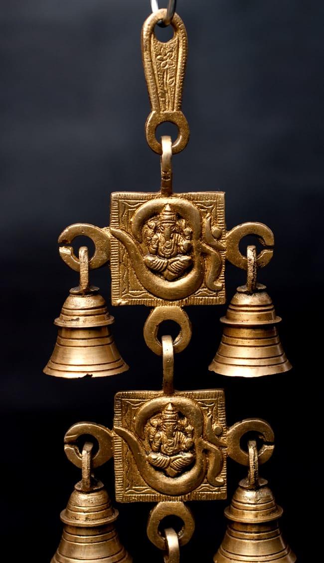 インドの神様ベル【5段】の写真4 - とても雰囲気があります