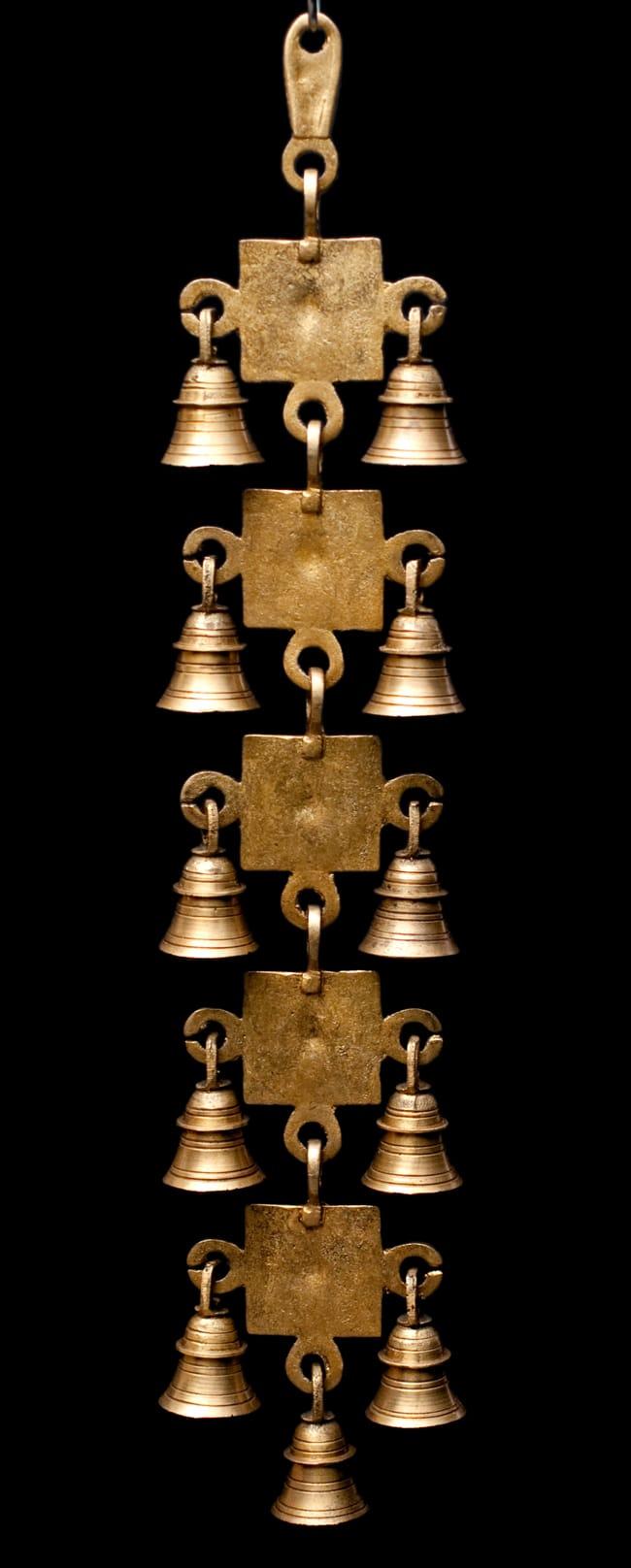 インドの神様ベル【5段】の写真6 - 裏側の写真です
