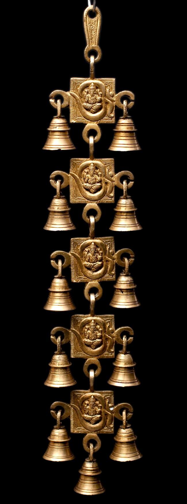 インドの神様ベル【5段】の写真