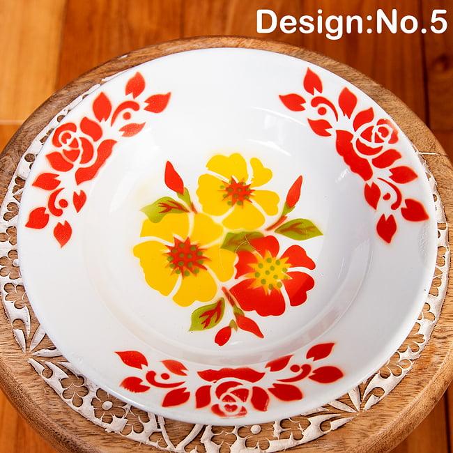 タイのレトロホーロー 花柄飾り皿 RABBIT BRAND〔約23cm×約3.2cm〕 12 - 先進諸国のプロダクトと異なり、タイの製品にはハンドメイドの工程が大きく関わっており、その精度も決して高くはありません。 そこから生じる塗装のムラやカケ・キズが手作りのぬくもりと魅力になっております。製品の特性としてお楽しみください。