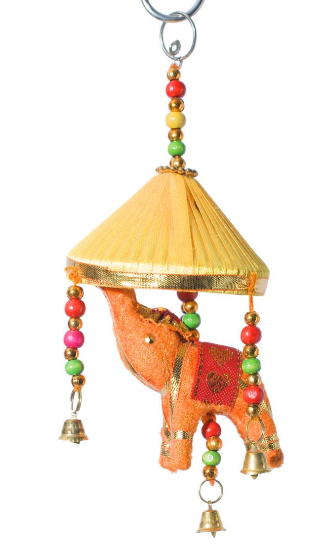 ゾウのハンギング傘-8cm 黄色 【アソート】の写真