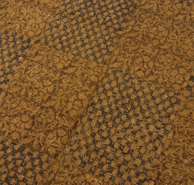 インドのラグ ジュート・ダリー 【約180cm×約120cm】の写真3 - ちょっと近づいてみました