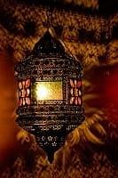 吊り下げアラビアンランプ - 提灯型