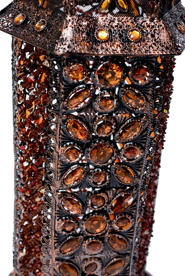 床置きアラビアンランプ - 柱型の写真11 - 側面の部分です。