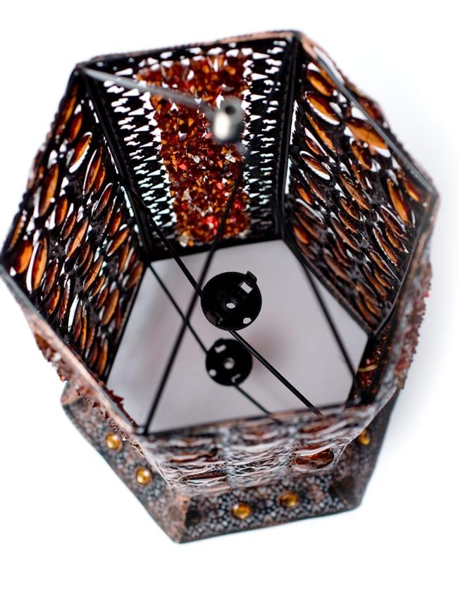 床置きアラビアンランプ - 柱型の写真15 - こちらの商品には電球とソケットが付属しません。お客様自身で配線していただく商品となります。