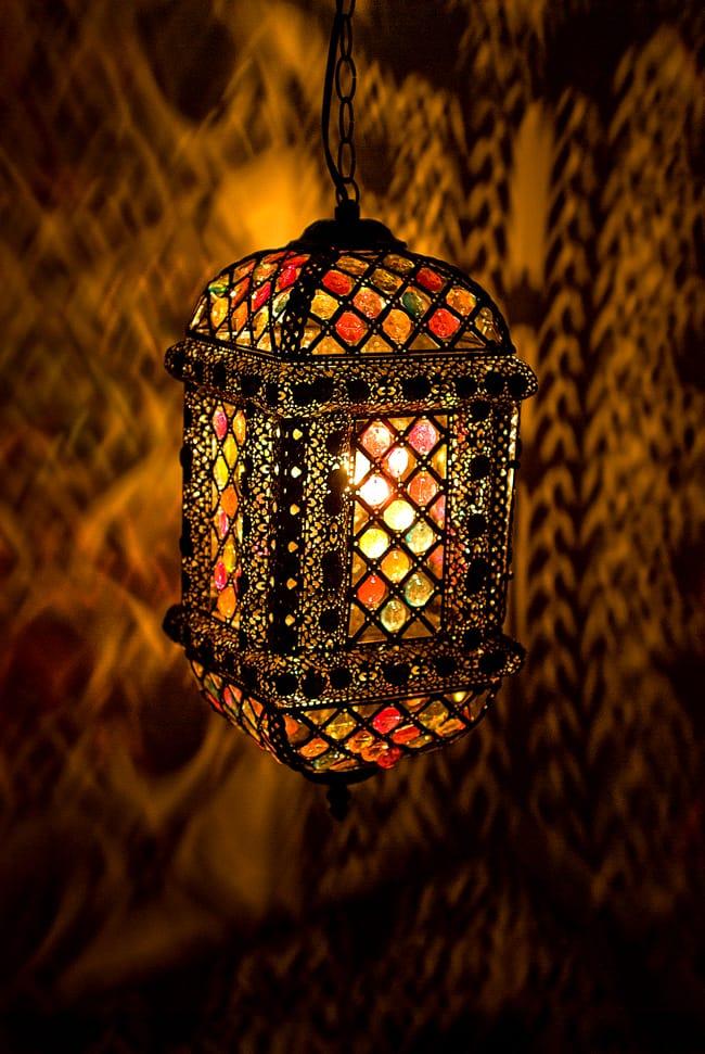 吊り下げアラビアンランプ - 提灯型の写真