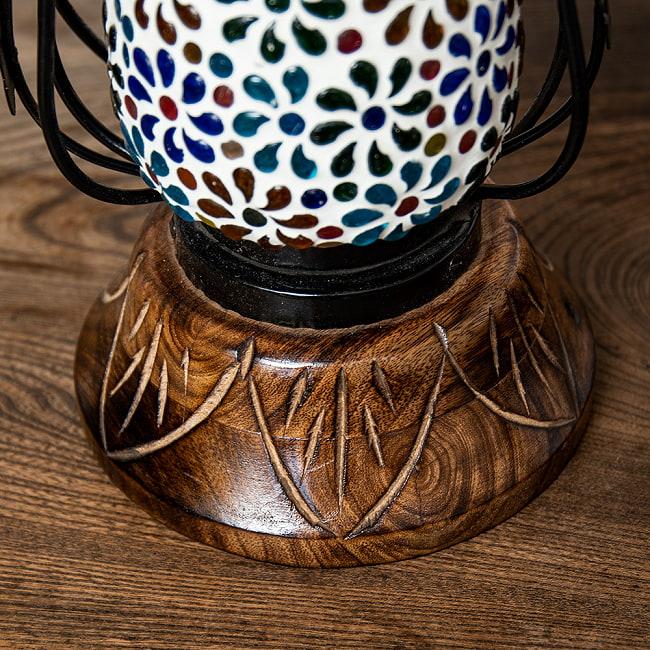 ランタン型 モザイクランプの写真11 - 可愛いデザインです。