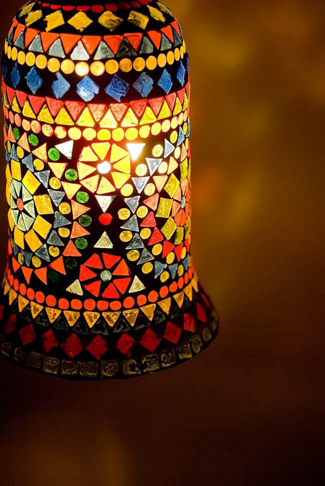 Tirakita rakuten global market hanging mosaic lamps half hanging mosaic lamps half round diameter 15 cm ethnic india asian goods arabian style lampshade interior asian lamps mozeypictures Image collections