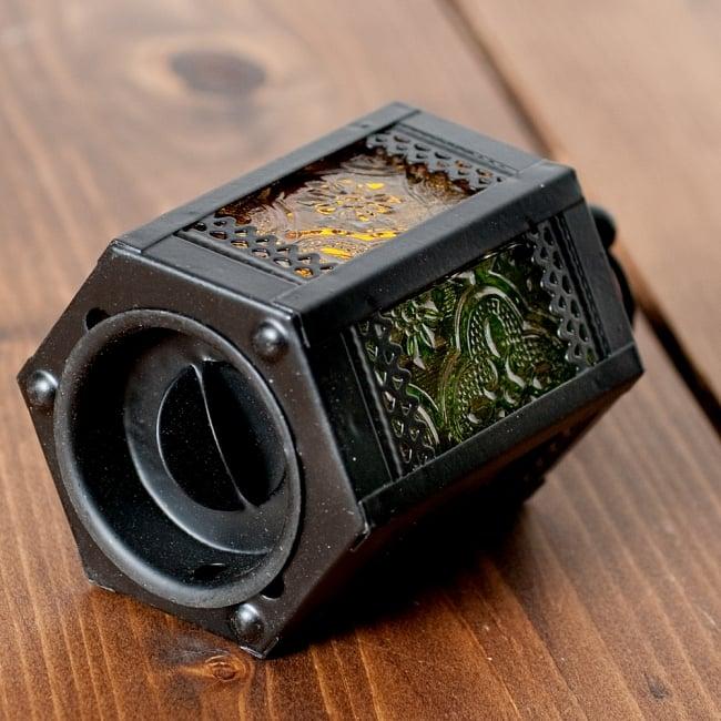 【11.5cm】スタンド型LEDキャンドルランタン【ロウソク風LEDキャンドル付き】の写真5 - 裏面の写真です