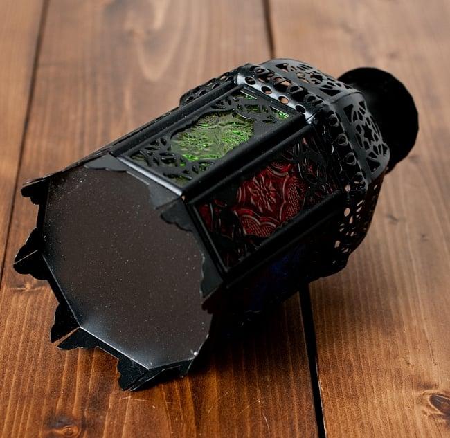 【19cm】スタンド型LEDキャンドルランタン【ロウソク風LEDキャンドル付き】の写真5 - 裏面の写真です
