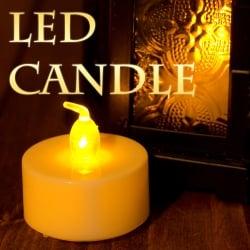 【お得!12個セット】ゆらめく灯火 ロウソク風LEDキャンドルライトの写真