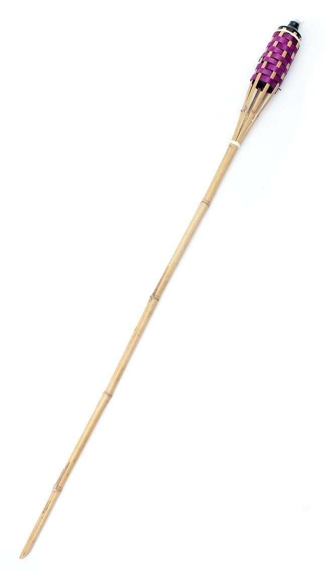 [150cm]バンブートーチ キャンプなどのアウトドアへ!竹製のたいまつの写真