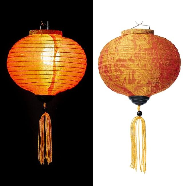 ベトナム伝統のホイアン・ランタン(提灯) -丸型 小 14 - 選択C