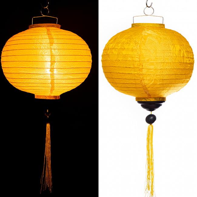 ベトナム伝統のホイアン・ランタン(提灯) -丸型 大 14 - 選択C