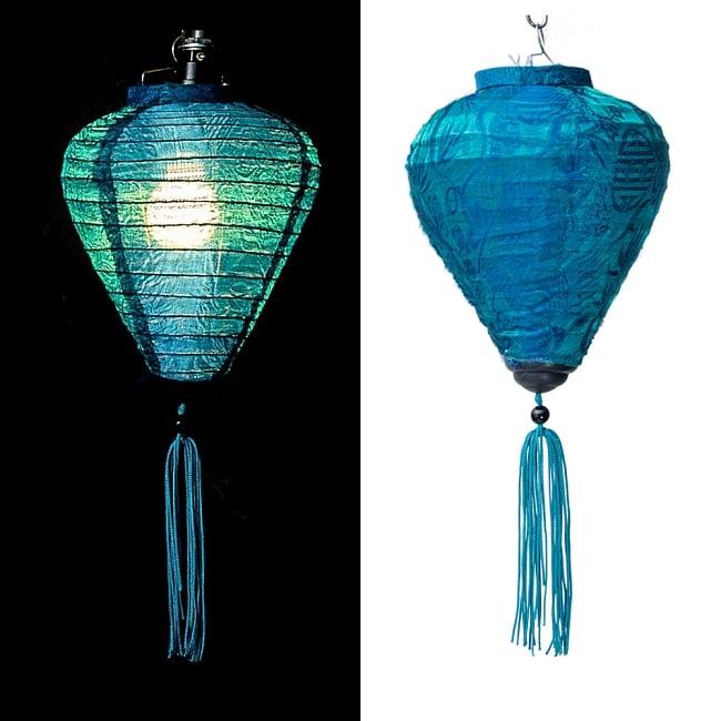 ベトナム伝統のホイアン・ランタン(提灯) お椀型 小 13 - 選択B
