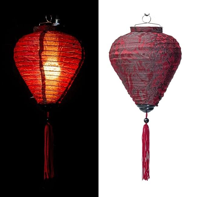 ベトナム伝統のホイアン・ランタン(提灯) お椀型 小 14 - 選択C