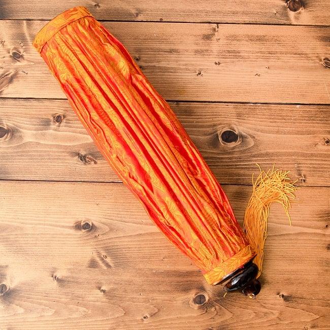 ベトナム伝統のホイアン・ランタン(提灯) - 薄ひし形(大) 14 - お届け時にはこのようになっています。