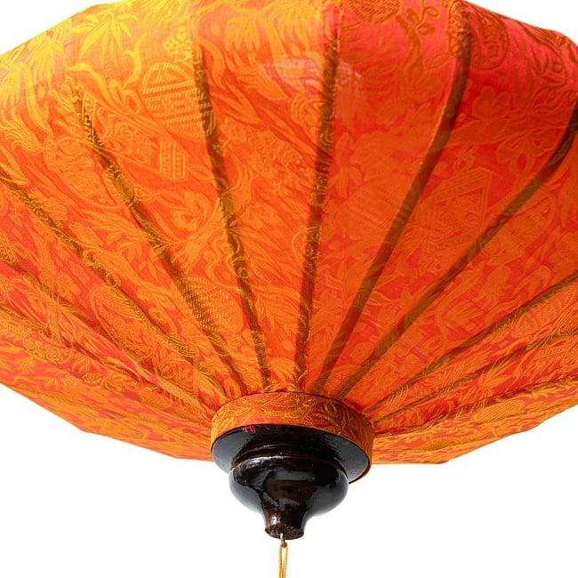 ベトナム伝統のホイアン・ランタン(提灯) - 薄ひし形(大) 9 - 空間の印象をガラリと変えてくれますね。