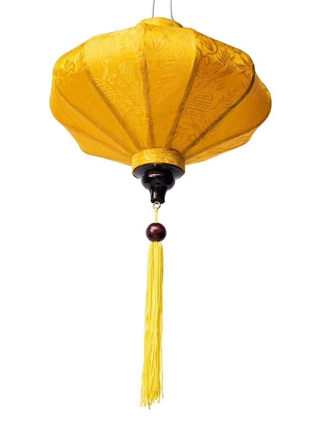 ベトナム伝統のホイアン・ランタン(提灯) - 薄ひし形(小) 9 - 空間の印象をガラリと変えてくれますね。