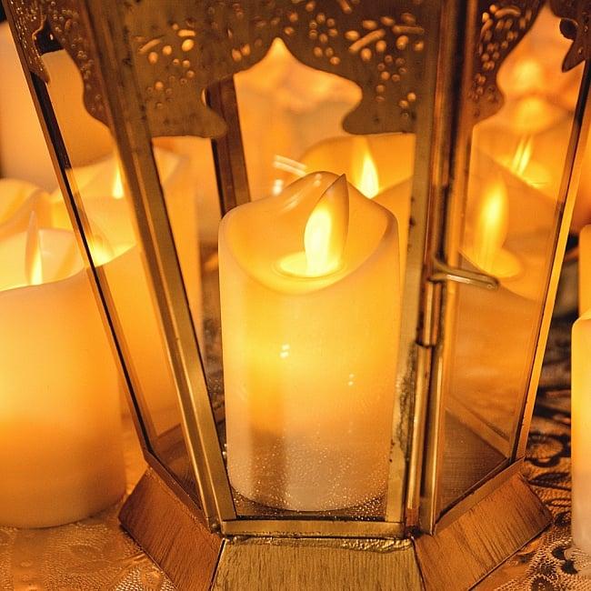 〔12個セット〕ゆらめく灯火 ロウソク風LEDキャンドルライト〔7cm×4.2cm〕 11 - 別売りのキャンドルホルダーなどに入れると、より雰囲気が出ます。
