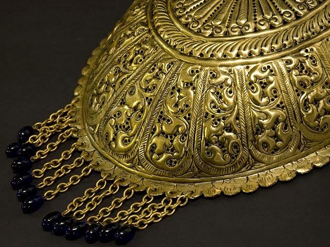 壁掛 - 卵型ハーレムランプ【33cm】の写真4 - 装飾玉のお色を在庫別一覧よりお選びください。