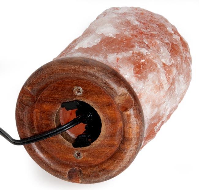 ヒマラヤの岩塩ランプ【M:3-5Kg】 4 -