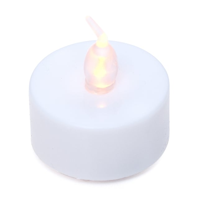 【お得!12個セット】ゆらめく灯火 ロウソク風LEDキャンドルライトの写真2 - 全体写真です