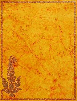 インドのレターセット - Sindhura(ID-LETTER-110)