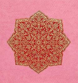 インドのメッセージカードセット - Aakash(ID-LETTER-123)