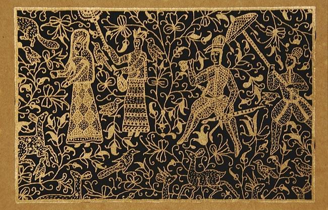 インドのメッセージカードセット - SUJANIの写真