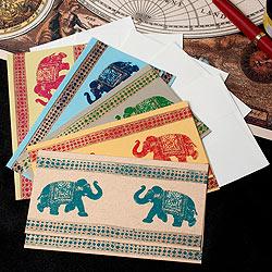 インドのメッセージカードセット - AMBARI(ID-LETTER-141)