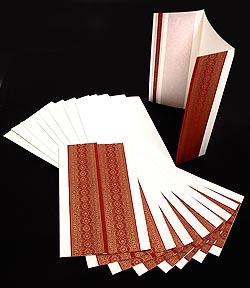 インドのメッセージカードセット - Ruchira(ID-LETTER-151)