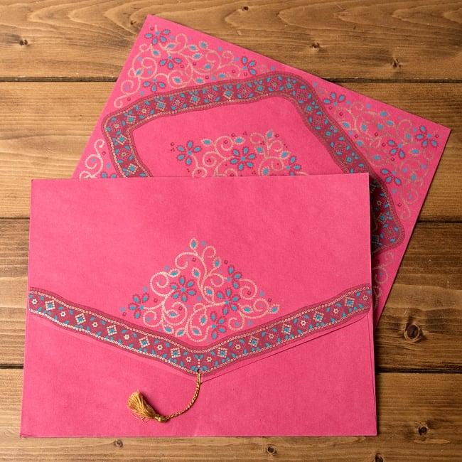チマンラールの書類ファイル - BANDHANI 14 - 選択:マゼンタ