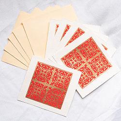 インドのメッセージカードセット - KIRTI
