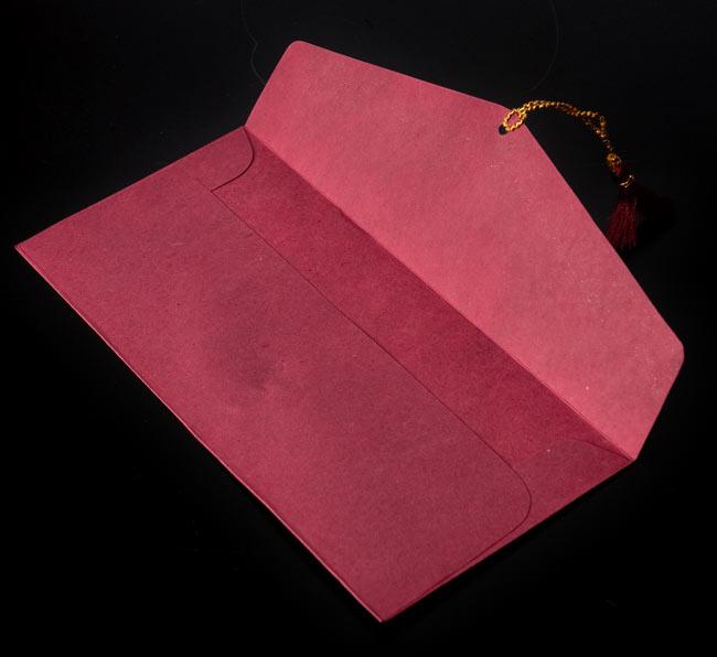 インドの封筒 - Dhananjay 4 - 封筒の中に入れてみたところです