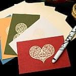 インドのメッセージカードセット - Bhavana(P)