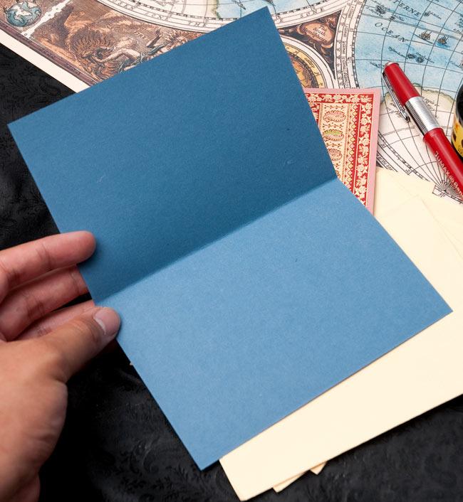 インドのレターセット - NOOR 3 - こちらが便箋の記載スペースになります。