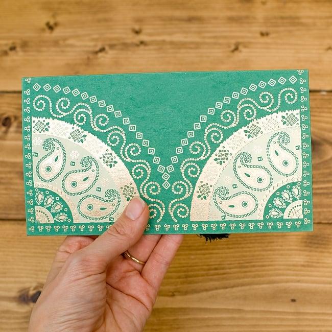 インドの封筒 - BANDHEJ 6 - 手にとってみました!使いやすいサイズですね^^